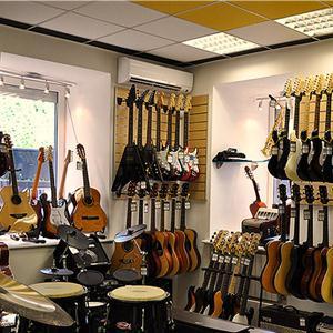 Музыкальные магазины Березовского